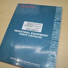 Toyota 30 7fbcu 7fbchu 15 18 20 25 30 32 Forklift Parts Manual Book Catalog List