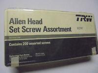 Trw Service Line 200 Piece Allen Head Set Screw Assortment