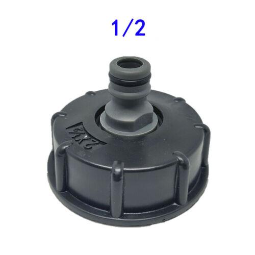 IBC Tankdeckel S60X6 Adapter Garten Schlauchanschluss Tankdeckel Zubehör Neu