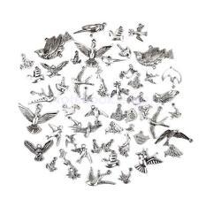 50pcs Birds Dove Animal Alloy Pendant Charm Mixed Jewelry Making