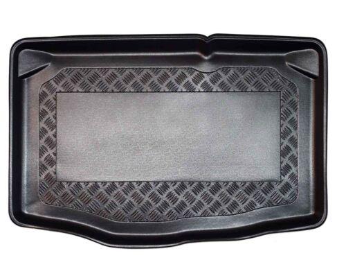 Riffelblech Design Kofferraumwanne für Mazda 2 DJ Schrägheck 2014