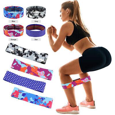 3PC//SET Resistance Bands Booty Fabric Glutes Hip Circle Legs Squat Yoga Non Slip