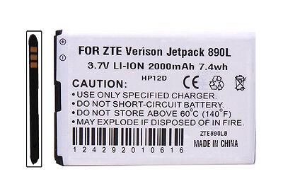 New OEM LI3717T42P3H654458 Jetpack 890L 890 4G LTE WiFi Hot Spot Battery