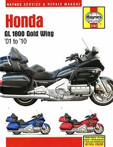 Haynes-Manual-2787-for-Honda-GL1800-Gold-Wing-1800-01-10-workshop-service