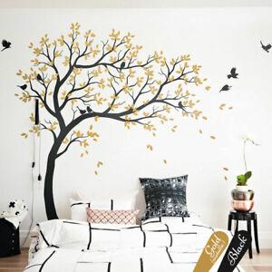 Details Zu Groß Baum Wandtattoo Aufkleber Wald Kinderzimmer Wand Baum Kw032r