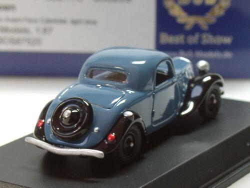 87520-1:87 Bos CITROEN TRACTION AVANT Faux Cabrio 1934 Blu//Nero