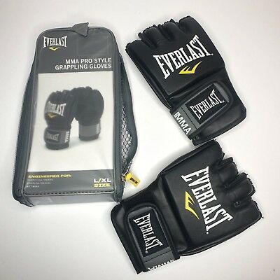 Everlast Grappling Gloves Small Black S Boxing