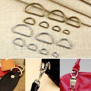 20Pcs Handbag Leather Bag Purse Strap Belt Web D Ring Buckle Clasp 7 ... 09d1141d35597