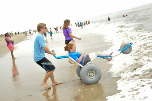 Sand-Rider-Beach-Wheelchair-Metallic-Blue