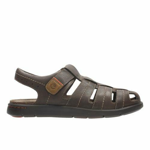 Clarks Mens  Unwilmore Bayr Sandal  braun Extra Comfortable  UK 7,8 G
