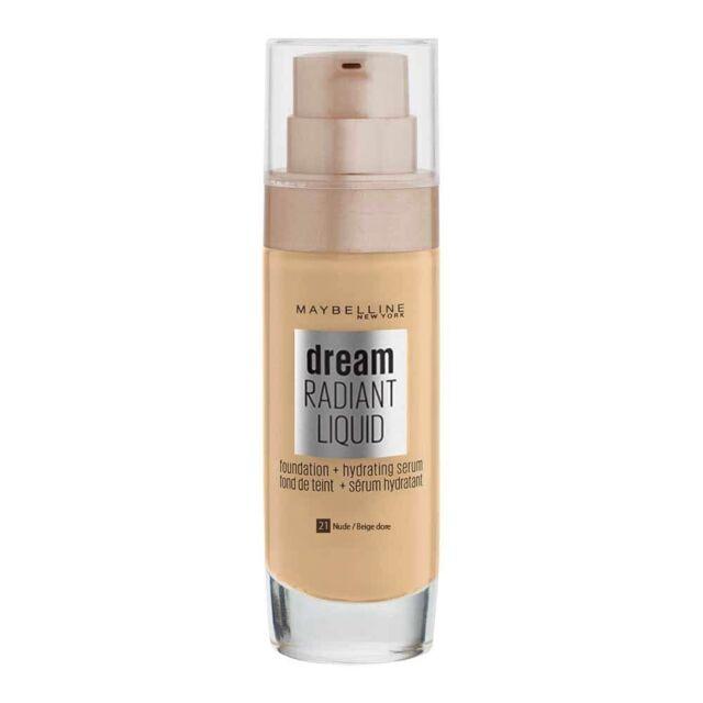 Maybelline Foundation Dream Satin Liquid 21 Nude - Tesco