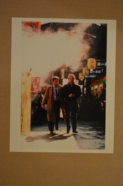 TV/MOVIE PRESS PHOTO: BLACK RAIN, MICHAEL DOUGLAS, ANDY GARCIA (G3)