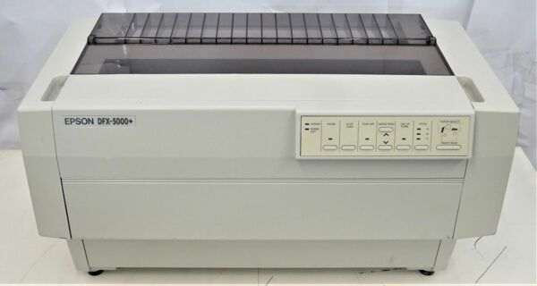 EPSON DFX-5000+ IMPACT PRINTER WINDOWS 7 DRIVER