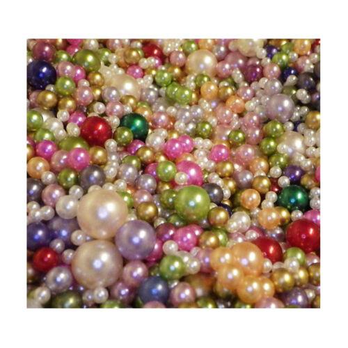 5030 dekoperlen dekokugeln bastelperlen multicolor colorido Mix perlas con y sin agujero