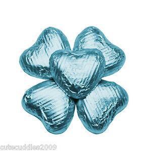 Milk-Chocolate-Hearts-wedding-party-celebration-x-100-Turquoise-Blue