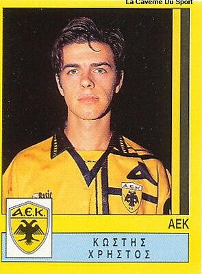 N°019 KOSTIS AEK ATHENS GREECE HELLAS PANINI GREEK LEAGUE FOOT 95 STICKER 1995