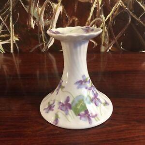 Haviland Limoges France Œufs Cup Violettes- Noble Porte-Bougie ou Chandelier rq1SyCJ7-09093017-586988375