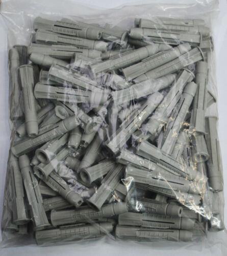 100 Stück Universaldübel Dübel Allzweckdübel Mehrzweckdübel 6 8 10 mm Beton