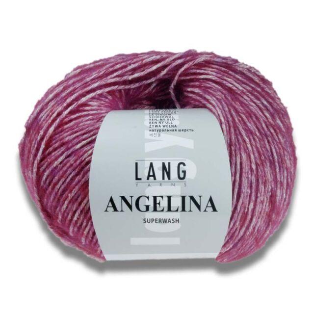 Lang Yarns Angelina 26 Ll 150m//50g Needle Thickness 4,5