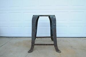 Image Is Loading Antique Industrial Table Base Cast Iron Table Legs