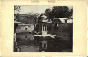 Indien-India-UDAIPUR-Asien-Asia-seltener-Heimatbeleg-im-Postkarten-Format-1940