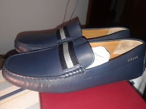 Men's BALLY Shoes Casual, Blue, Size 9