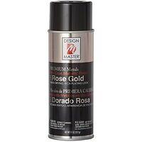 Design Master Premium Metallic Spray Paint, 11-ounce, Rose Gold