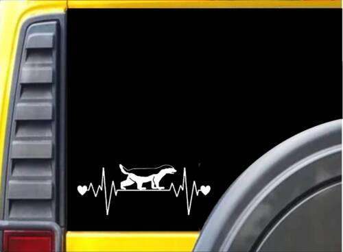"Badger Lifeline Decal Sticker 8/"" J763"