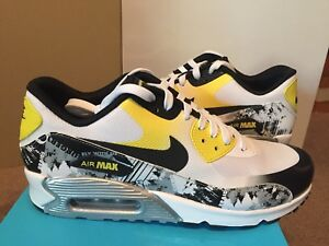 Nike Wmns Air Max 90 Prm Qs Sz 5 Ds Oregon Ducks