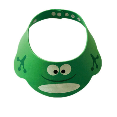 SHOWER CAP FOR KIDSShampoo Eye Shield for Baby Bath Hair Hat Cap Visor Guard
