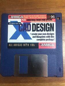 CU-Amiga-Magazine-Cover-Disk-96-X-Cad-Design-TESTED-WORKING
