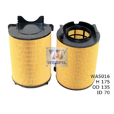 WESFIL AIR FILTER GOLF 2004-2006 PASSAT 2006-2010 WA5016