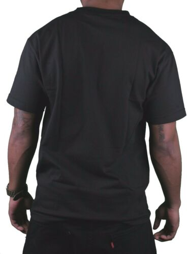 Dissizit Mens Black Free Country Prison Bars American Cross Bones Flag T-Shirt