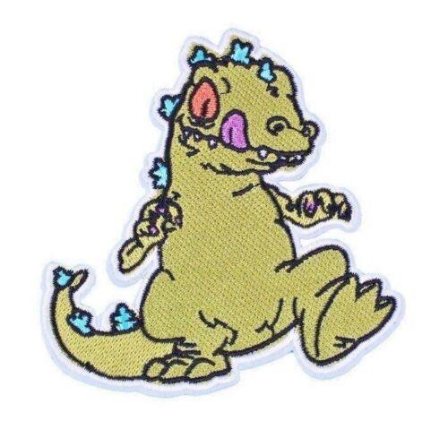 Nickelodeon Rugrats REPTAR dinosaur Cartoon Vintage Retro Iron on Patch Applique