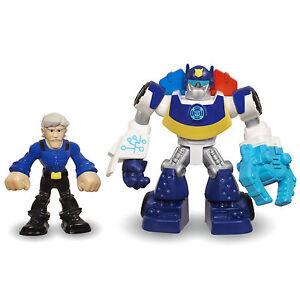 Playskool heroes transformers rescue bots chase police bot - Playskool helmet heroes police officer ...