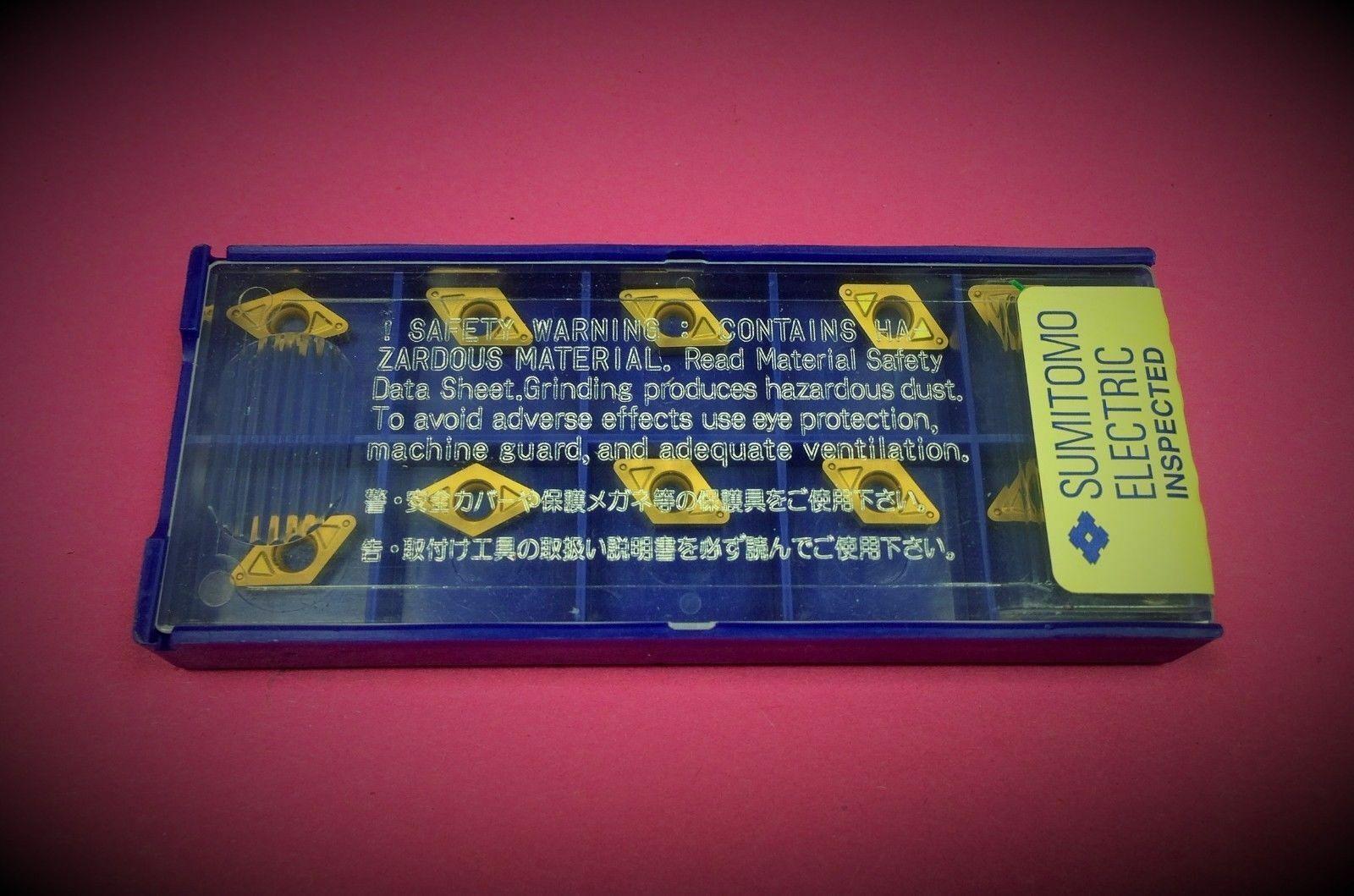 10st Wendeplatten  DCMT 11T302N-SU AC530U    Wendeschneidplatten SUMITOMO