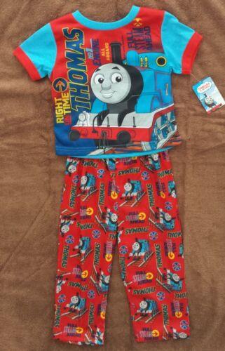Thomas the Tank Train Railway Friends 2-piece Pajamas Shirt /& Pants 3T ~NWT