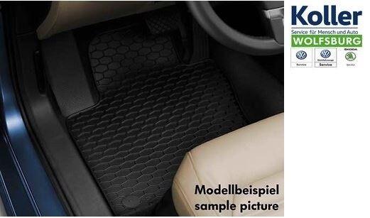 Volkswagen Alfombrillas de Goma Plus 4 Kit Polo 9N Volante a la Izquierda