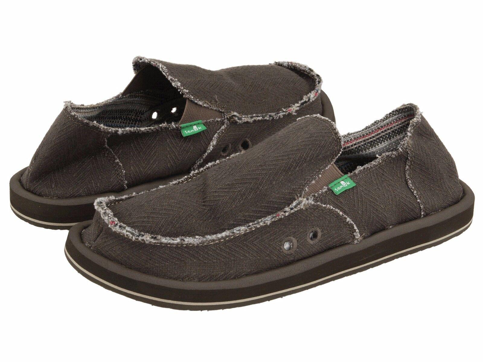 Men's Shoes Sanuk HEMP Slip On Loafers