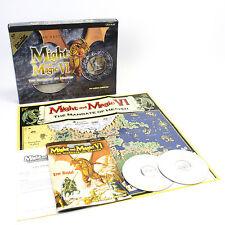 Might and Magic VI: The Mandate of Heaven Limited Edition for PC, CIB, VGC