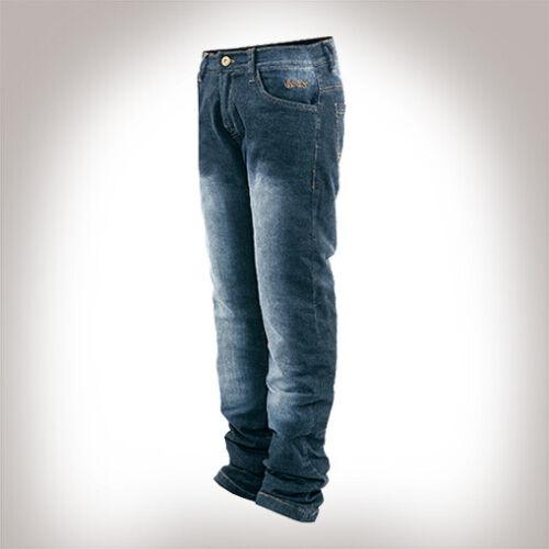 Bores Live Jeans Pantaloni da Hydro-Tech procedure reso resistente all/'acqua blu 34
