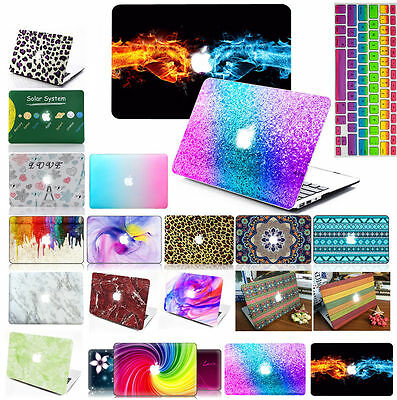 "Matte Hard Case Keyboard Cover Screen Protector For Mac Book Air 11"" 13"" Pro 15"