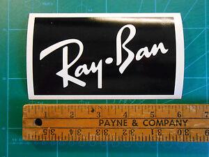 "5.5"" Ray Ban Sunglasses Logo Decal Sticker Sunglasses ..."