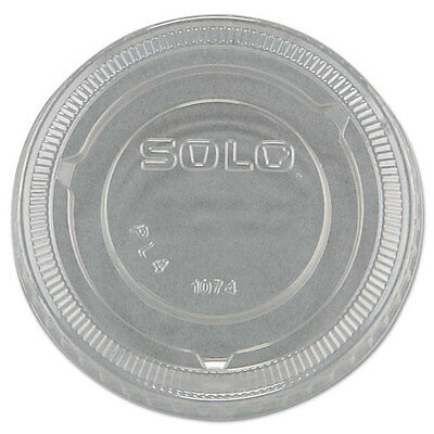 Solo PL4 100 CLEAR PLASTIC LIDS BRAND NEW