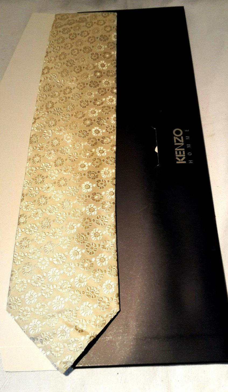 Kenzo Tie Pure Silk NEW