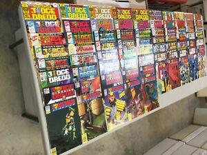 Judge-Dredd-1-77-Complete-Set-Quality-Fleetway-Comics