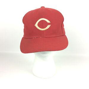 c182326b844 Cincinnati Reds Hat Cap Fitted Sz 6-3 4 Trashed Diamond MLB New Era ...