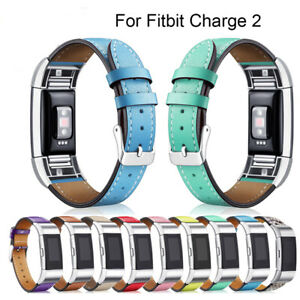 Fitbit-Charge-2-Replacement-Bands-Classic-Genuine-Leather-Wristband-Strap-Bands