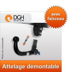Attelage Démontable Vert Audi A6 Allroad 00/06 Avant Break + Faisceau 13 Broches
