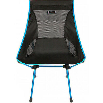 Helinox Camp Unisex Adventure Gear Camping Chair - Black Blue One Size